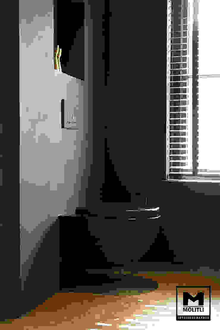Badkamer Industriële badkamers van Molitli Interieurmakers Industrieel Beton