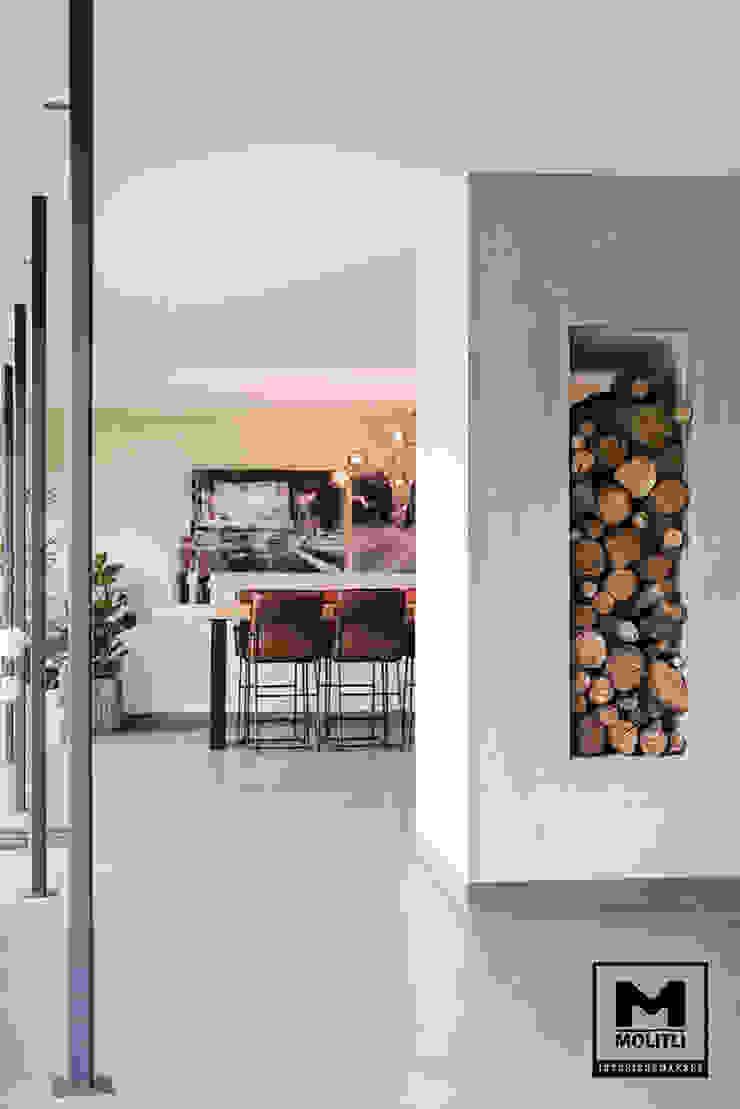 Woonhuis in Hengelo Industriële woonkamers van Molitli Interieurmakers Industrieel