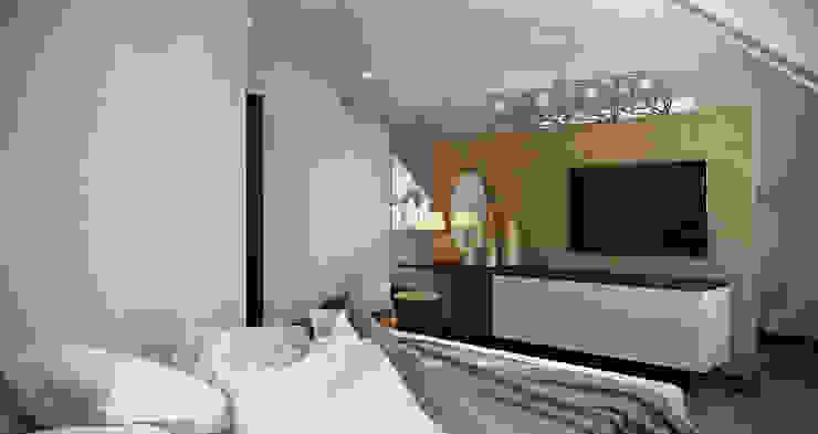 Baku S House Dormitorios de estilo moderno de Tolga Archıtects Moderno