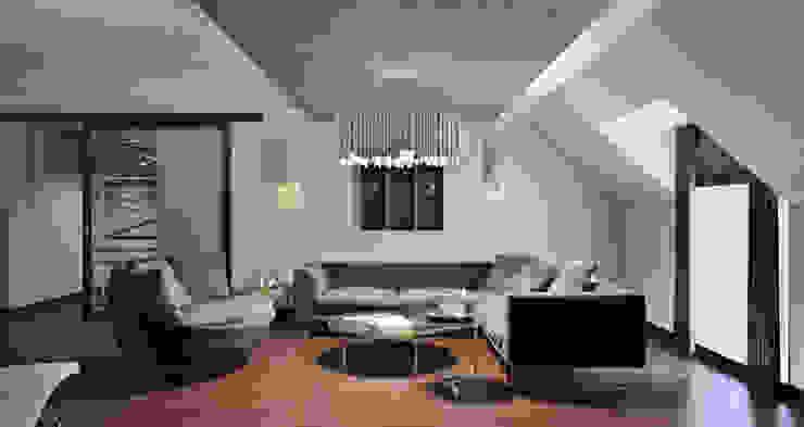 Bakü S House Tolga Archıtects Modern Oturma Odası