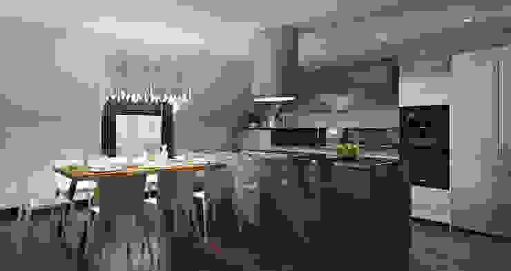 Baku S House Cocinas de estilo moderno de Tolga Archıtects Moderno