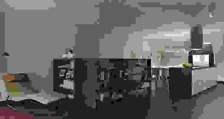 Baku S House Livings de estilo moderno de Tolga Archıtects Moderno