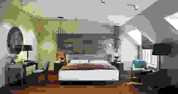 Bakü S House Tolga Archıtects Modern Yatak Odası