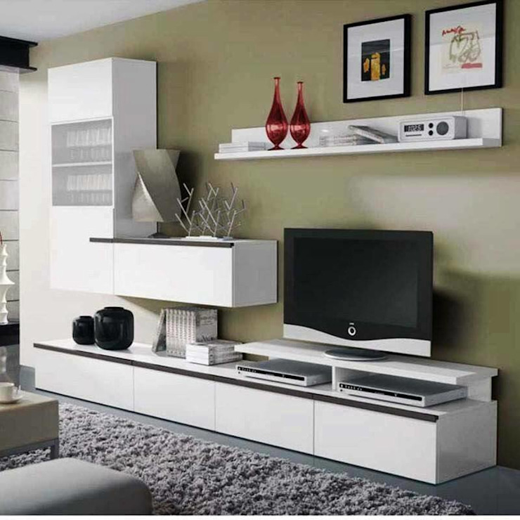 Family Room Design With Tv: 9 Modern TV Units In Your Living Room