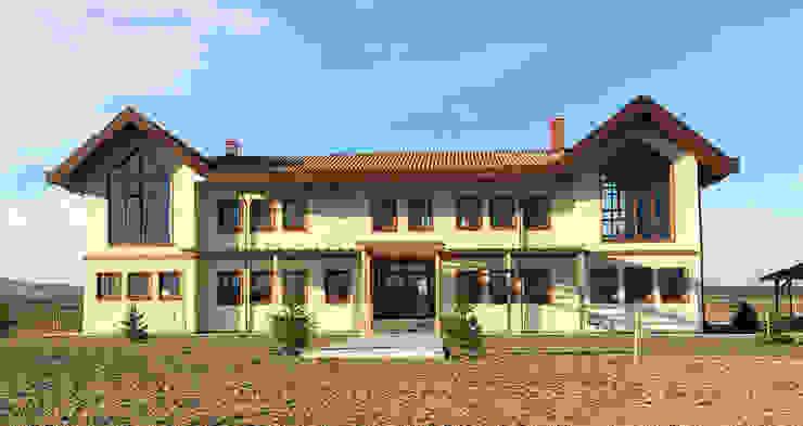 Adatarım Farm Administrative and Accommodation Buildings por Tolga Archıtects Campestre