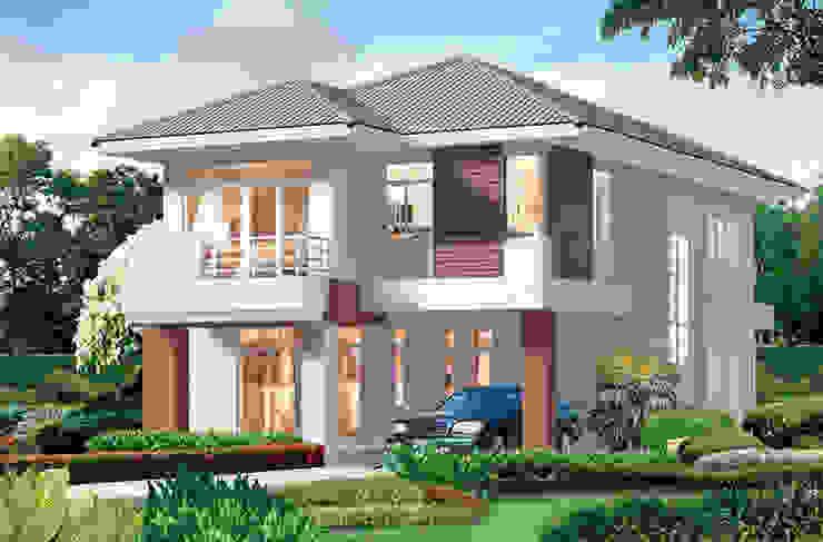 Dự án biệt thự 2 tầng anh Luân – Bình Dương bởi Biet Thu Hien Dai