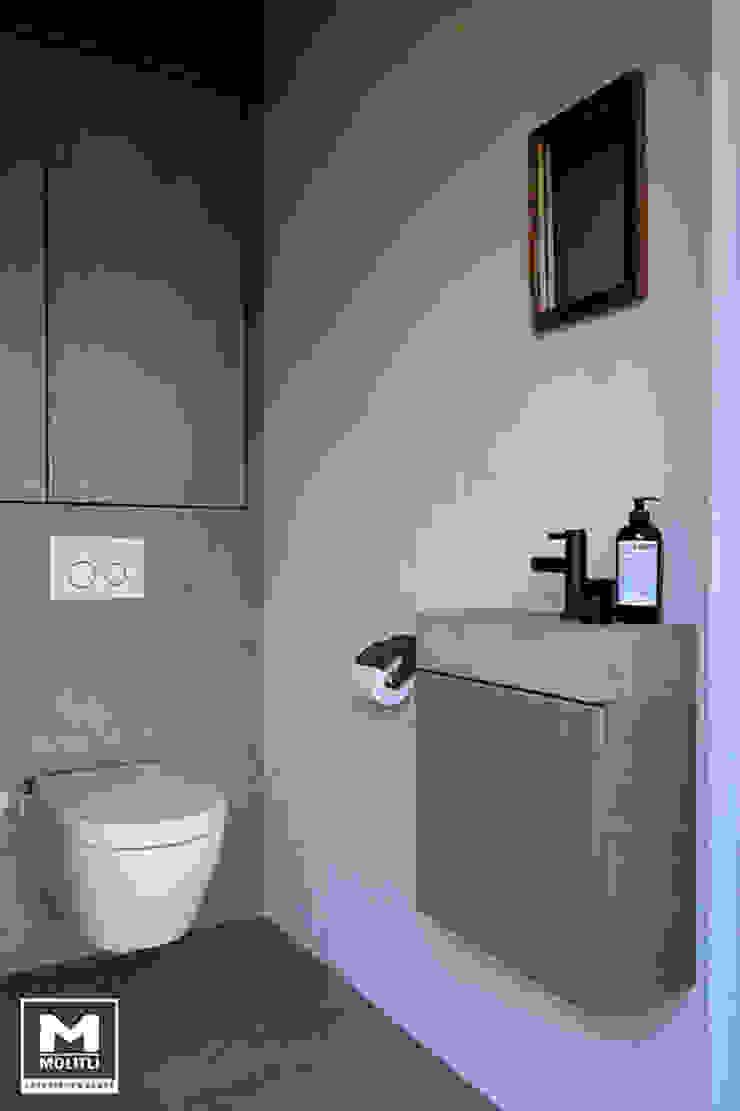 Buitenverblijf Ibiza style Mediterrane badkamers van Molitli Interieurmakers Mediterraan