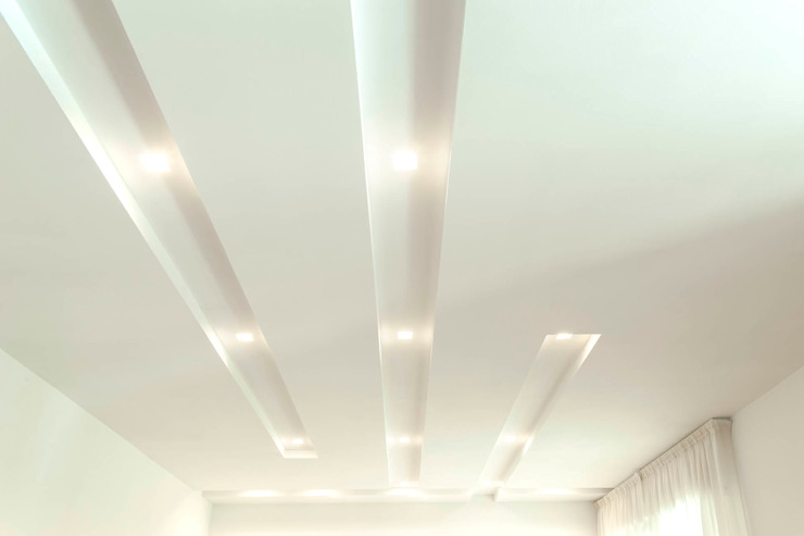 Luca Bucciantini Architettura d' interni Salle à manger minimaliste Blanc