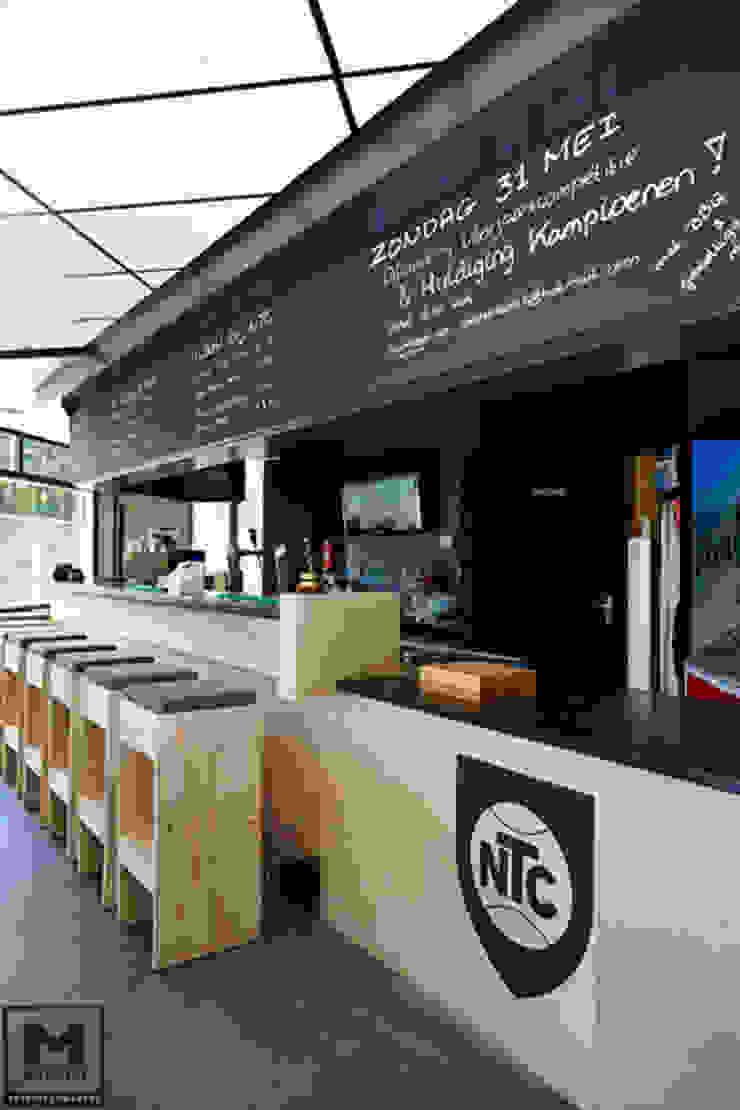 NTC Nijkerk Industriële eetkamers van Molitli Interieurmakers Industrieel