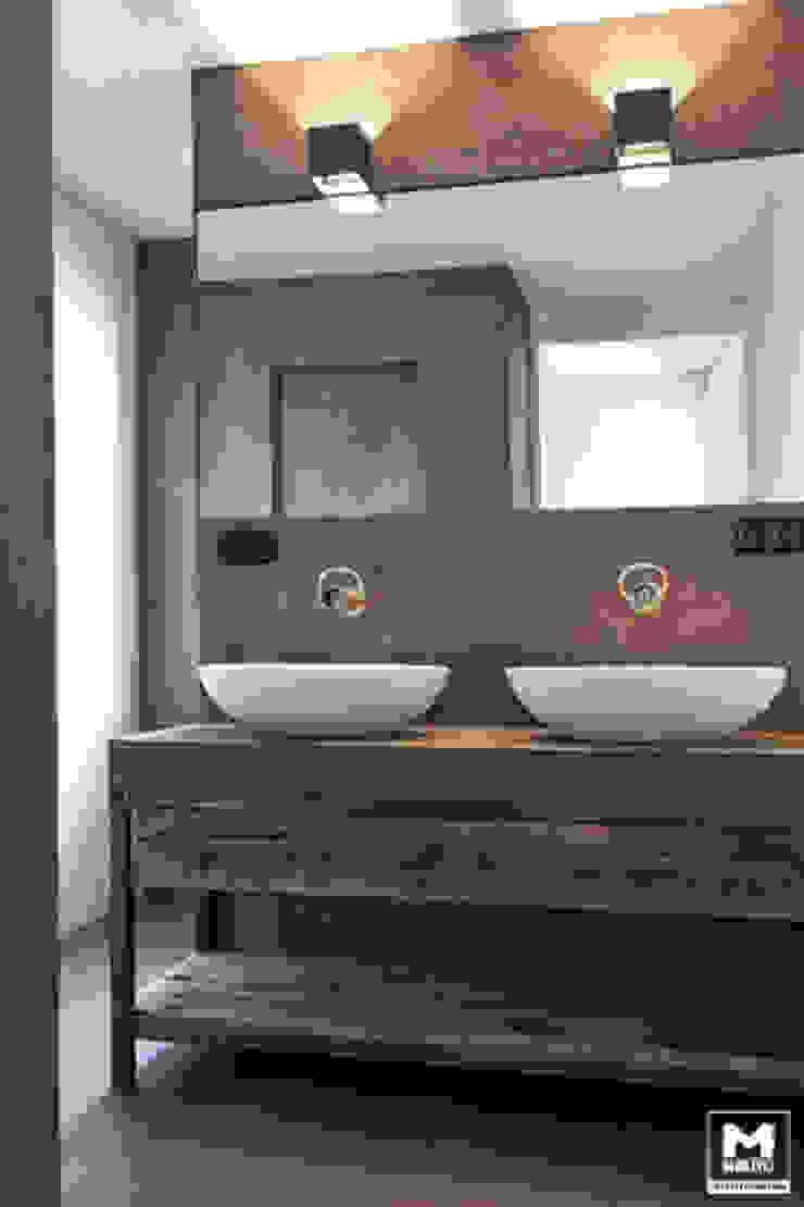 Restyling woning: Woonkamer, badkamer, keuken Scandinavische badkamers van Molitli Interieurmakers Scandinavisch