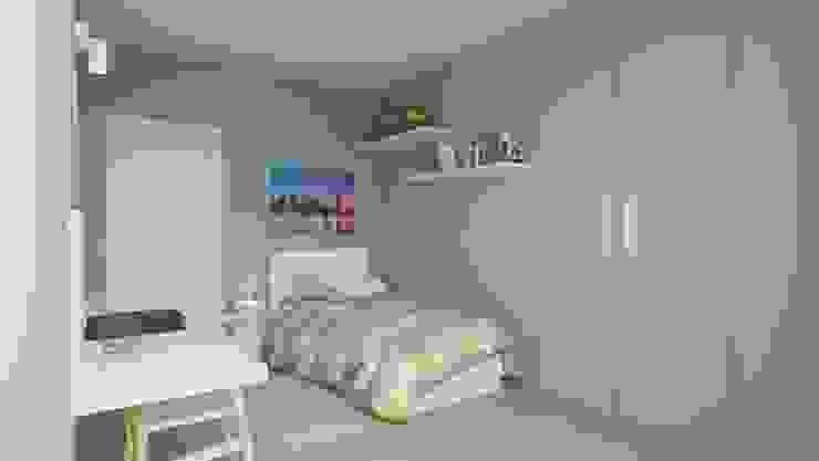 Camera Singola Architetto Mario Oliveri Camera da letto moderna