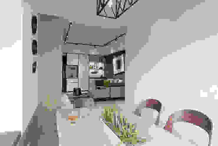 淡水  品酌:  餐廳 by 寬宸室內設計有限公司, 簡約風