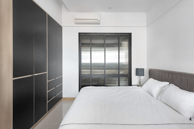 Dormitorios de estilo minimalista de 寬宸室內設計有限公司 Minimalista