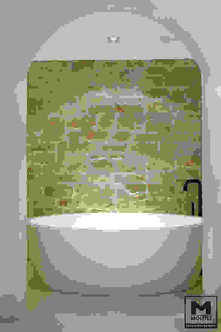 Bohemian Badkamer Industriële badkamers van Molitli Interieurmakers Industrieel