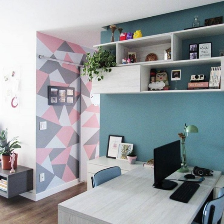 Home Office Escritórios modernos por Marcena - Design e Móveis Sob Medida Moderno MDF