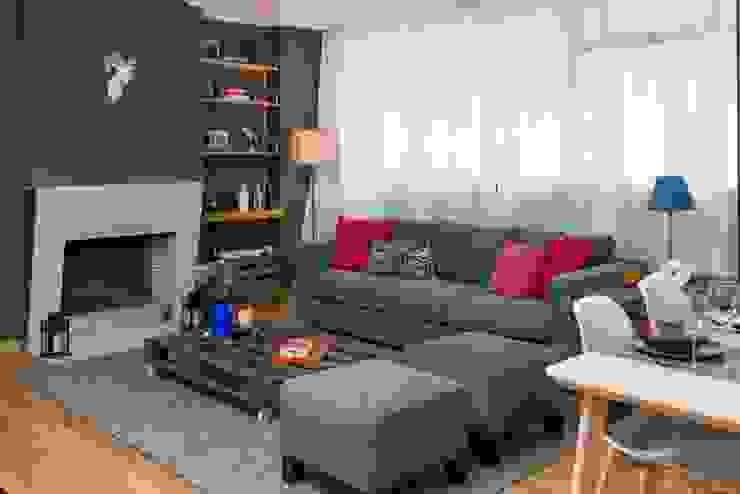 Sala de Estar Rita Salgueiro Salas de estar modernas