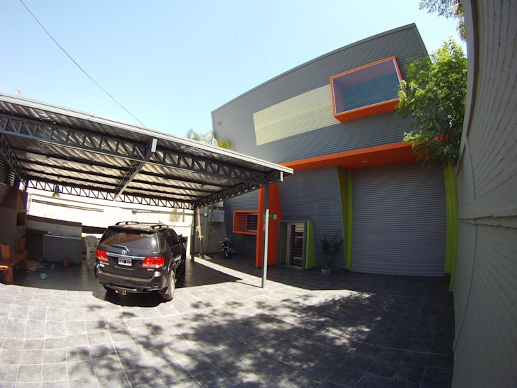 Droguería Monstserratnorte - Vista Exterior 7 Edificios de oficinas de estilo moderno de Módulo 3 arquitectura Moderno