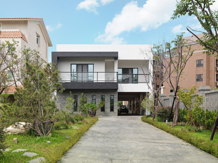 WID建築室內設計事務所 Architecture & Interior Design Modern houses