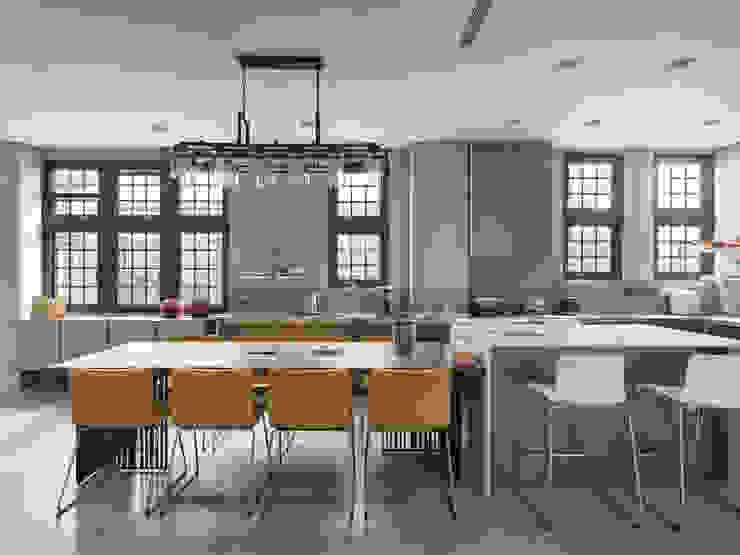 光景 巫宅 現代廚房設計點子、靈感&圖片 根據 WID建築室內設計事務所 Architecture & Interior Design 現代風
