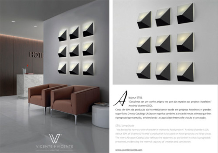 modern  by LUZZA by AIPI - Portuguese Lighting Association, Modern