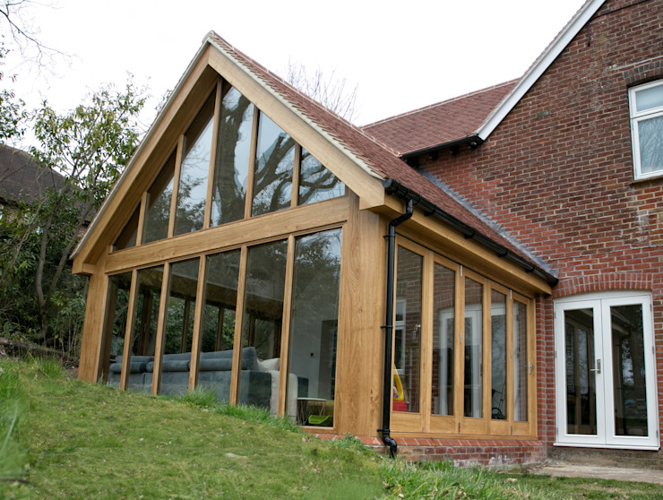 Sunroom Extension dwell design Будинки