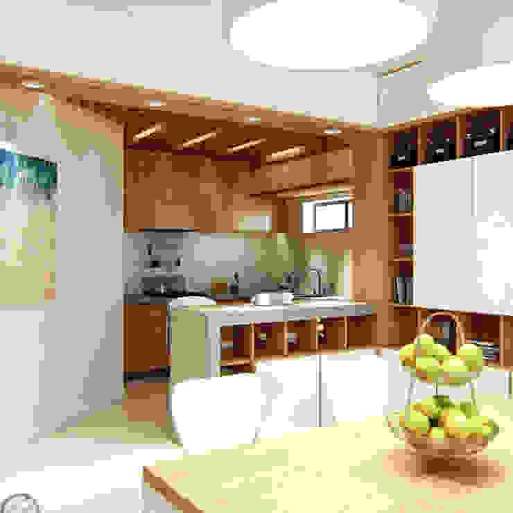 Beach Theme Interior Dapur Modern Oleh March Atelier Modern