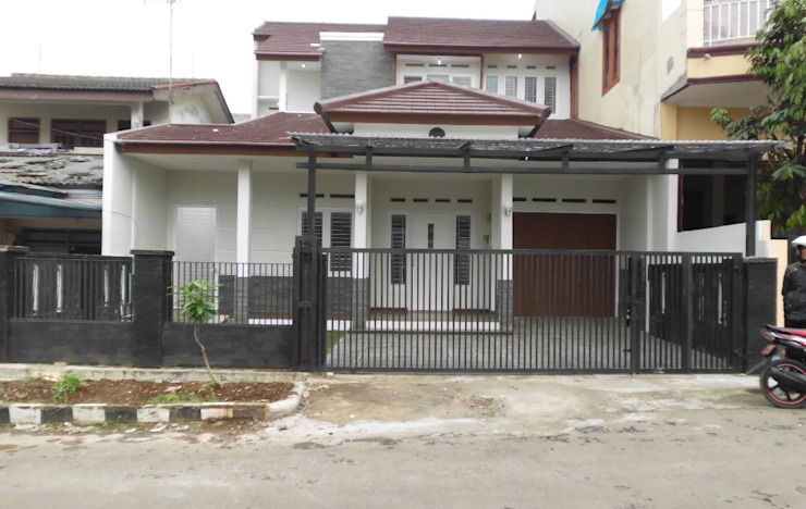 Nowoczesne domy od CV.Emasna Propertindo Sentosa Nowoczesny