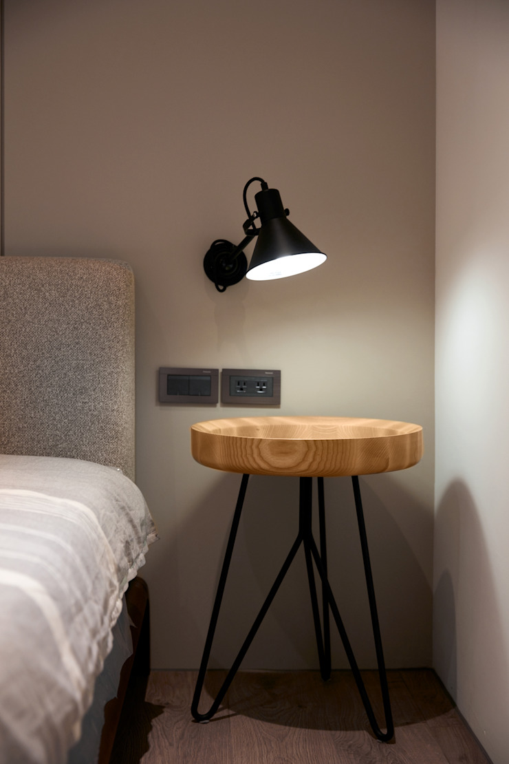 Dormitorios de estilo moderno de WID建築室內設計事務所 Architecture & Interior Design Moderno