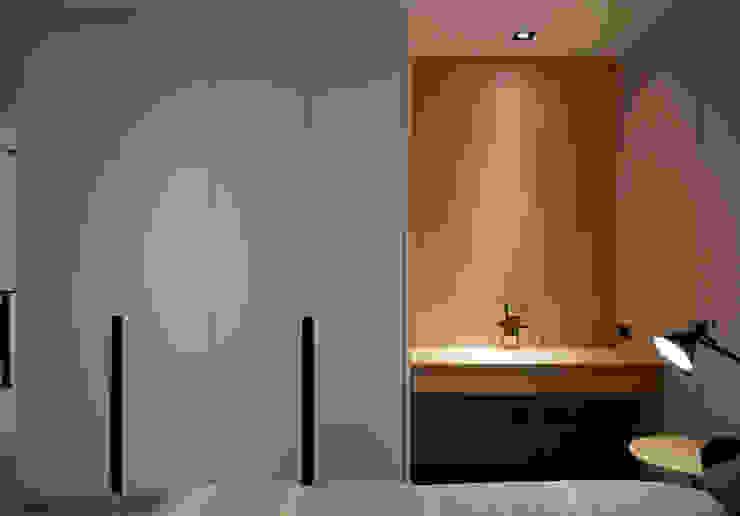 Moderne Schlafzimmer von WID建築室內設計事務所 Architecture & Interior Design Modern