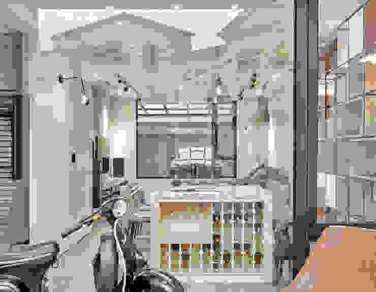 Puertas y ventanas de estilo moderno de WID建築室內設計事務所 Architecture & Interior Design Moderno