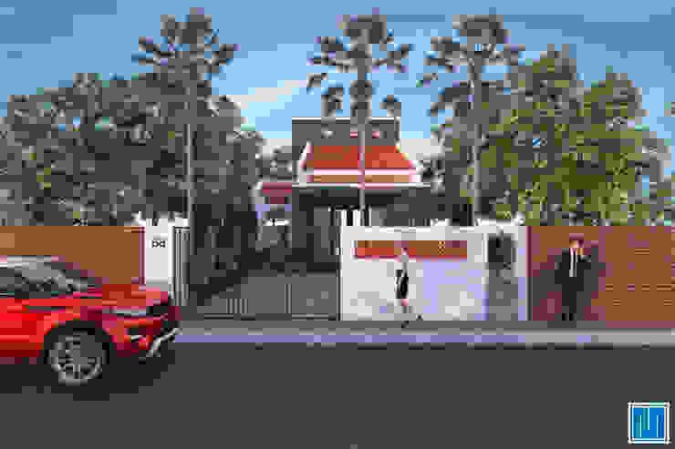 Nhà ở vùng ngoại ô bởi Mét Vuông