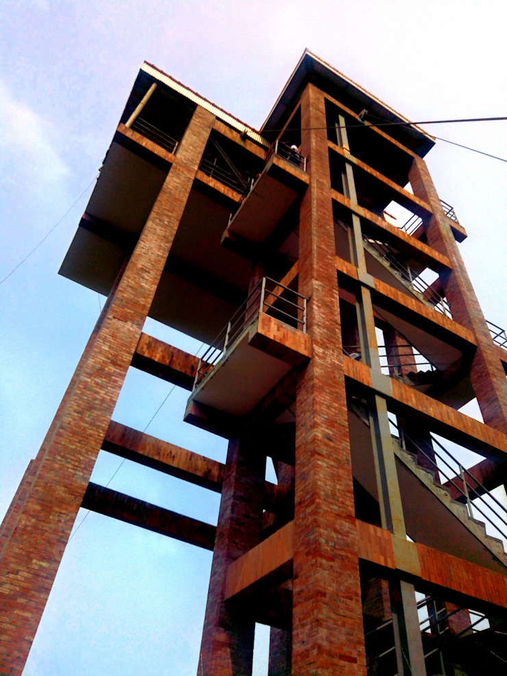 Zipline Staging Tower by Integrated Workers Multi-Purpose Cooperative