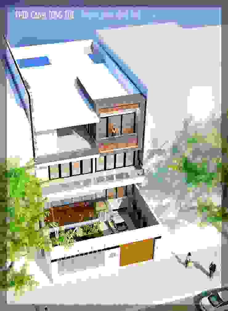 BIỆT THỰ LÔ PHỐ ANH VINH – THỦY NGUYÊN – THÀNH PHỐ HẢI PHÒNG bởi Kiến trúc Việt Xanh