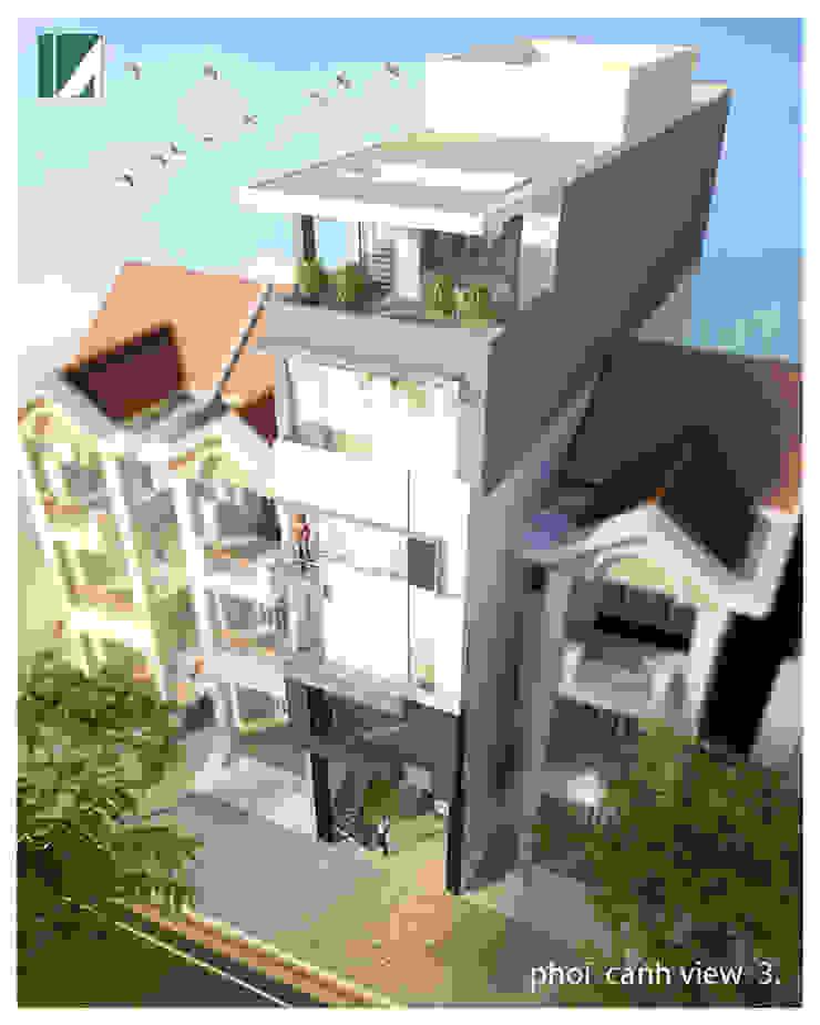 5 MẪU NHÀ PHỐ HIỆN ĐẠI CỰC ĐẸP bởi Kiến trúc Việt Xanh