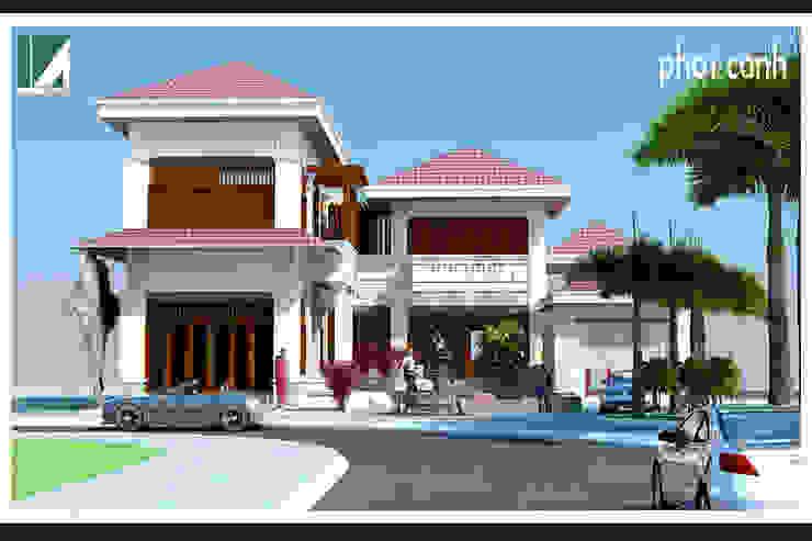 BIỆT THỰ 2 TẦNG MÁI NGÓI bởi Kiến trúc Việt Xanh