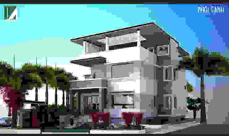 BIỆT THỰ SÂN VƯỜN HẢI DƯƠNG bởi Kiến trúc Việt Xanh