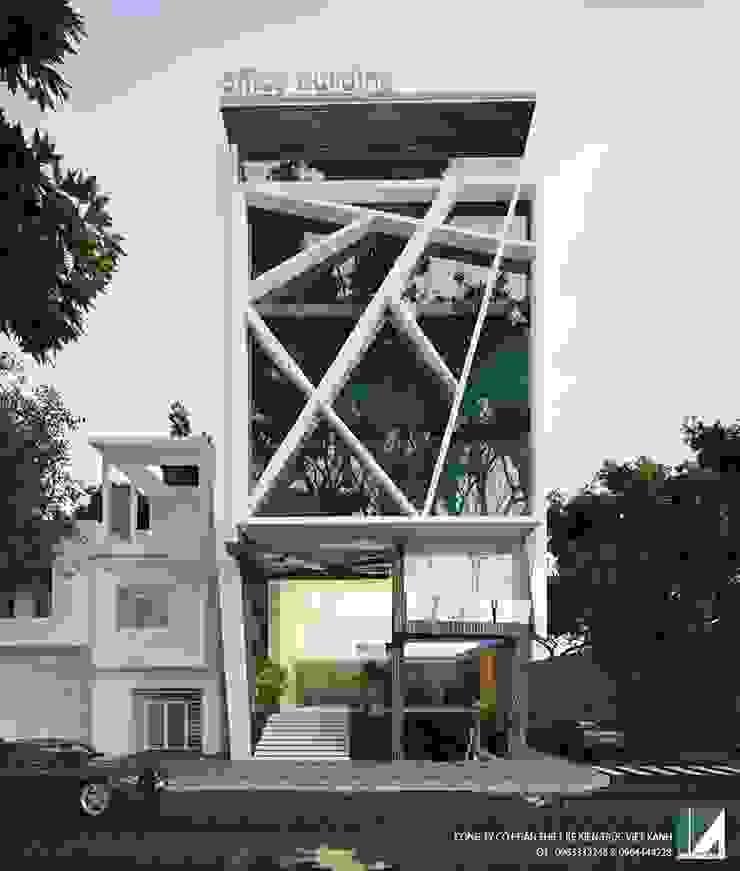 VĂN PHÒNG KHU ĐÔ THỊ HỒNG BÀNG- HẢI PHÒNG bởi Kiến trúc Việt Xanh