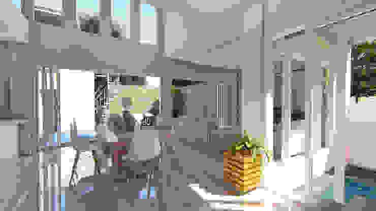 Desain Rumah Modern Bapak Barik Di Malang Ruang Ganti Modern Oleh Wahana Utama Studio Modern Keramik