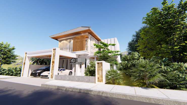 Desain Rumah Modern Bapak Barik Di Malang Oleh Wahana Utama Studio