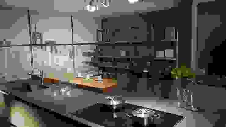 Industriale Küchen von Formarredo Due design 1967 Industrial