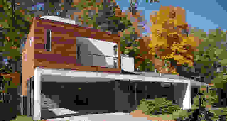 RT Studio, LLC Casas estilo moderno: ideas, arquitectura e imágenes Madera