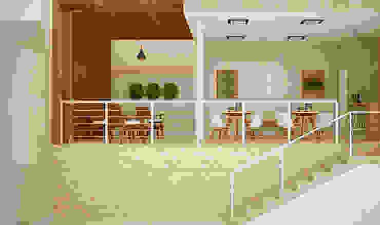 Moderner Balkon, Veranda & Terrasse von SCK Arquitetos Modern