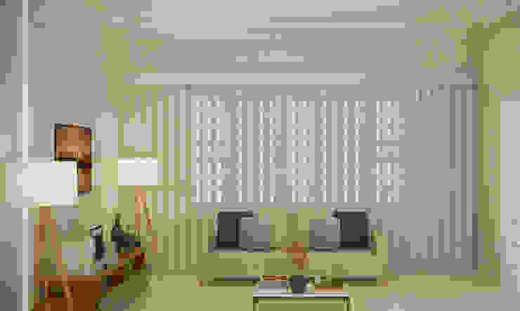 Moderne Wohnzimmer von SCK Arquitetos Modern