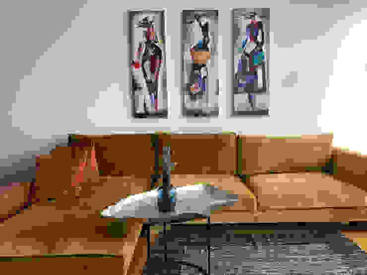 Salones de estilo escandinavo de Mahya Mimarlık Escandinavo