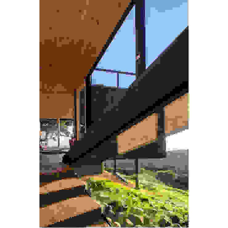 Casa Curaumilla de Crescente Böhme Arquitectos Moderno Piedra