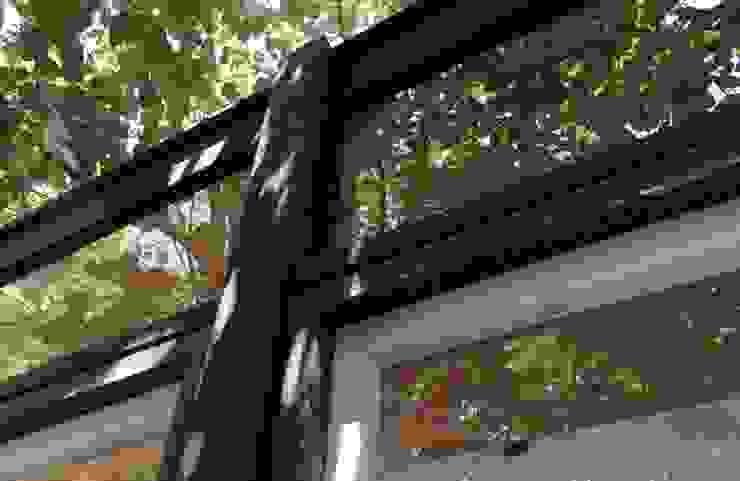 Casa Santa Isabel Crescente Böhme Arquitectos Ventanas de madera Vidrio Acabado en madera