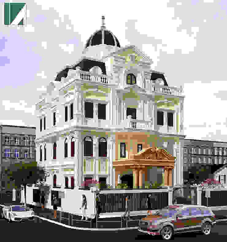 BIỆT THỰ LÂU ĐÀI ANH BIÊN bởi Kiến trúc Việt Xanh