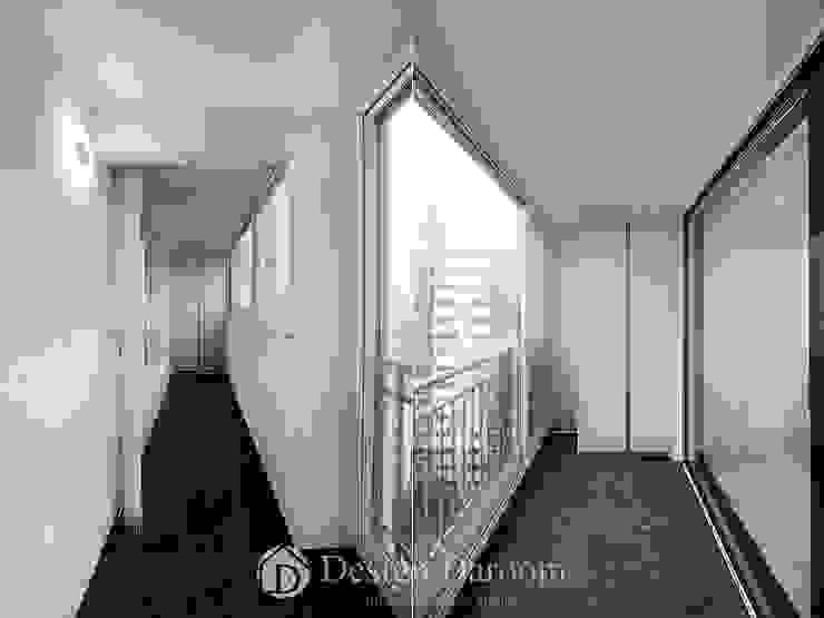 Nowoczesny balkon, taras i weranda od Design Daroom 디자인다룸 Nowoczesny