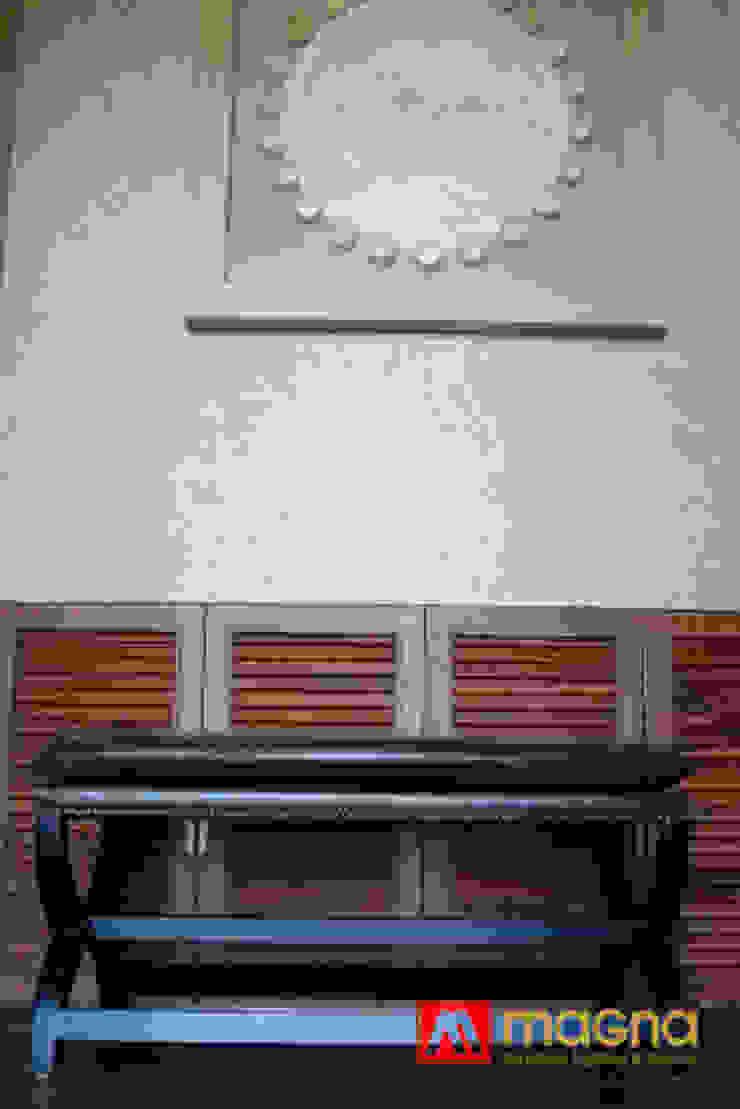 Home modern project:modern  oleh Magna Mulia Mandiri, Modern Kayu Wood effect
