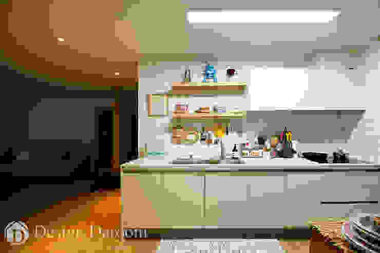 암사동 한강포스파크 25py 주방 스칸디나비아 주방 by Design Daroom 디자인다룸 북유럽